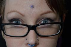 Flower-acnhor-forehead