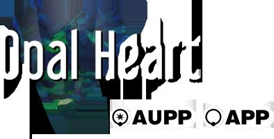 Opal Heart Logo
